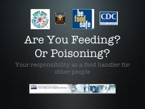 Food Safety PowerPoint Show and Handouts