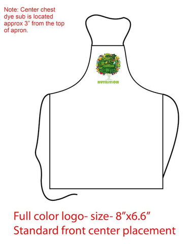 Nutrition Apron Premium Adjustable With Pocket - Nutrition Education Store