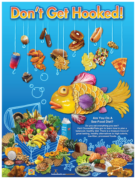 See Food Diet Poster - Nutrition Education Store