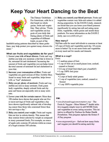 Dancing Heart Color Handout Download