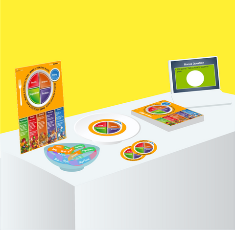 Poster Easel For Table Top Display - Nutrition Education Store