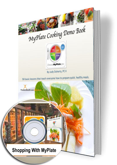 MyPlate Cooking Demo Ideas Book and CD