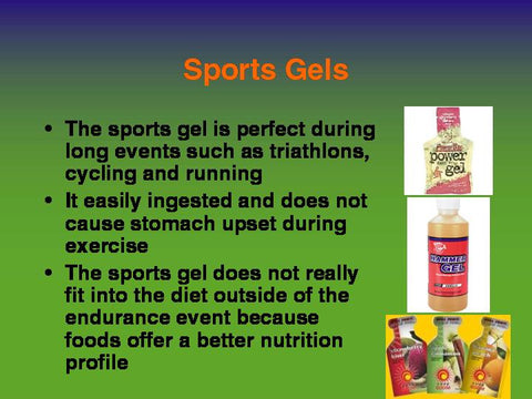 Sports Nutrition Basics PowerPoint and Handouts