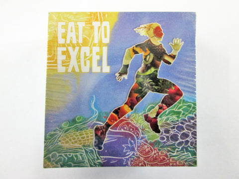 "Eat to Excel Stickers 2"" - Pack of 100 - Nutrition Education Store"