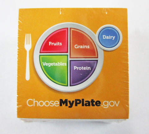 "MyPlate Stickers 2"" - Pack of 100 - Nutrition Education Store"