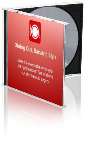 Bariatric Eating Out PowerPoint and Handout Lesson