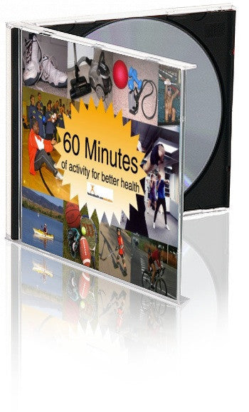 60 Minutes of Exercise - Exercise PowerPoint and Handout Set - DOWNLOAD