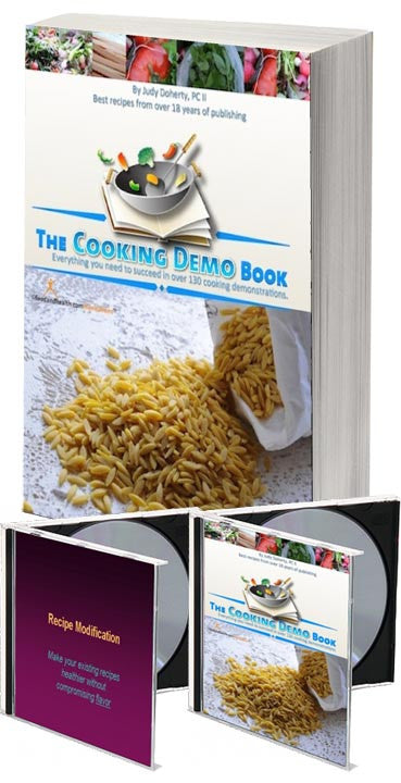 Cooking Demo Ideas Book and CD - Nutrition Education Store