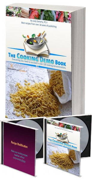Cooking Demo Ideas Book and CD