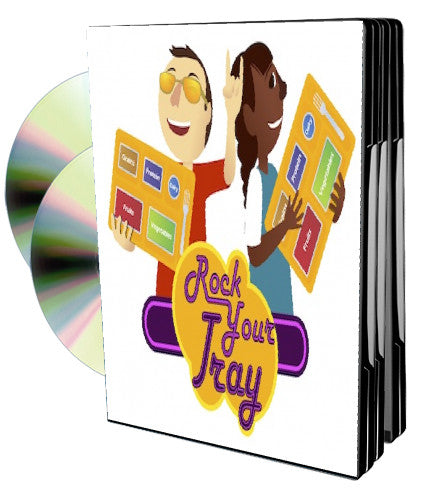 Rock Your Tray - National School Lunch Program Training Video Program - Nutrition Education DVD