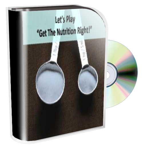 The Nutrition Is Right Game DOWNLOAD