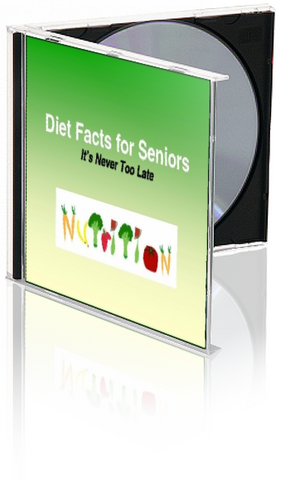 Diet Facts for Seniors PowerPoint and Handout Program - DOWNLOAD - Nutrition Education Store