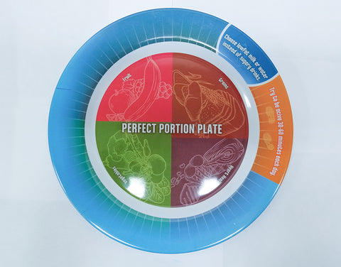 SECONDS - Portion Control Plate for Diet and Exercise Success 50 Pack - Nutrition Education Store