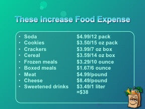 Healthy Shopping on a Budget PowerPoint and Handouts