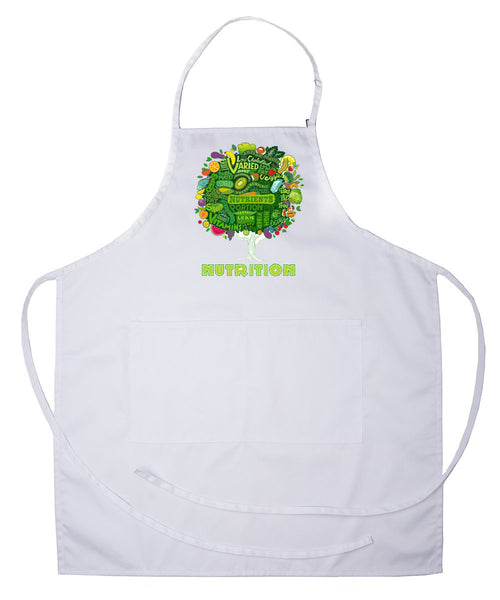 Nutrition Apron Premium Adjustable With Pocket