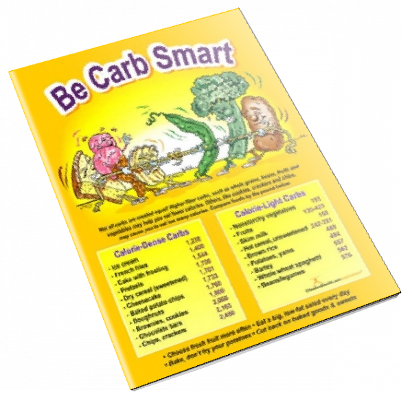 Be Carb Smart Color Handout Download - Nutrition Education Store
