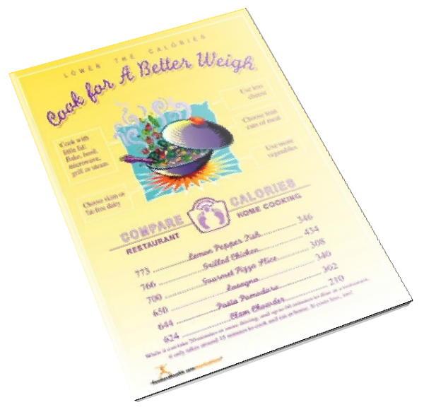 Cook for a Better Weigh Color Handout Download - Nutrition Education Store