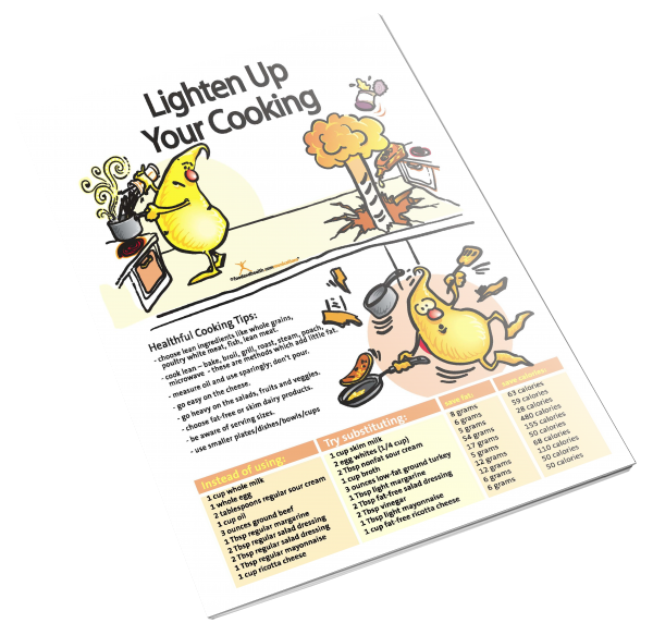 Lighten Up Your Cooking Color Handout Download