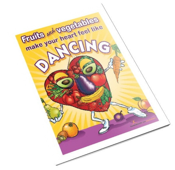 Dancing Heart Color Handout Download - Nutrition Education Store
