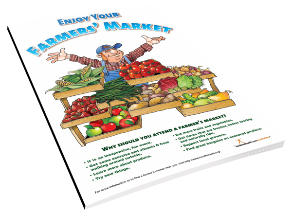 Farmer's Market Color Handout Download