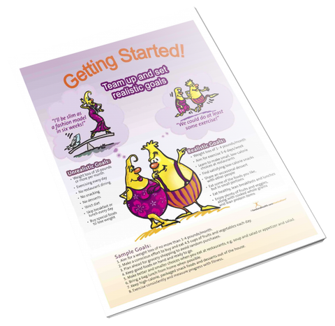 Getting Started Color Handout Download - Nutrition Education Store