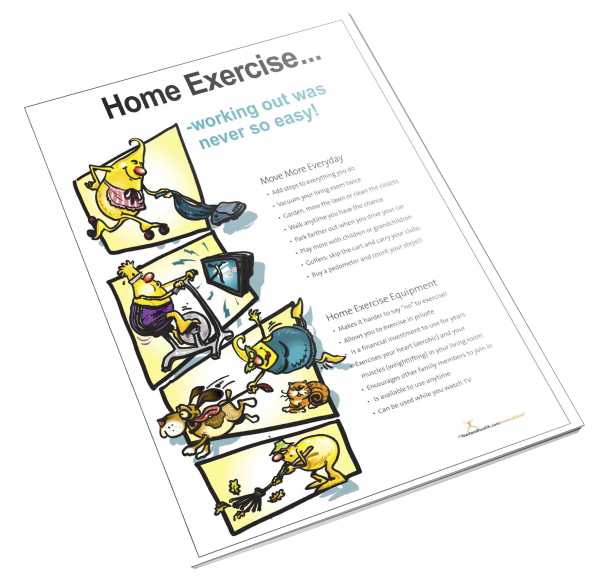 Home Exercise Color Handout Download