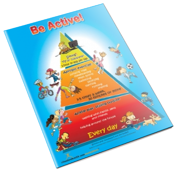 Kids Be Active Color Handout Download