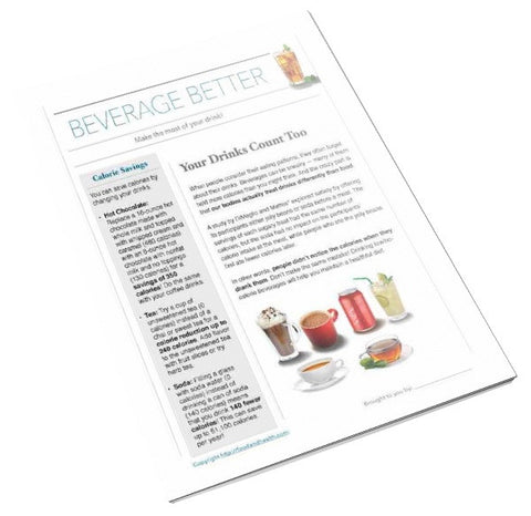 Beverage Tearpad - Nutrition Education Store