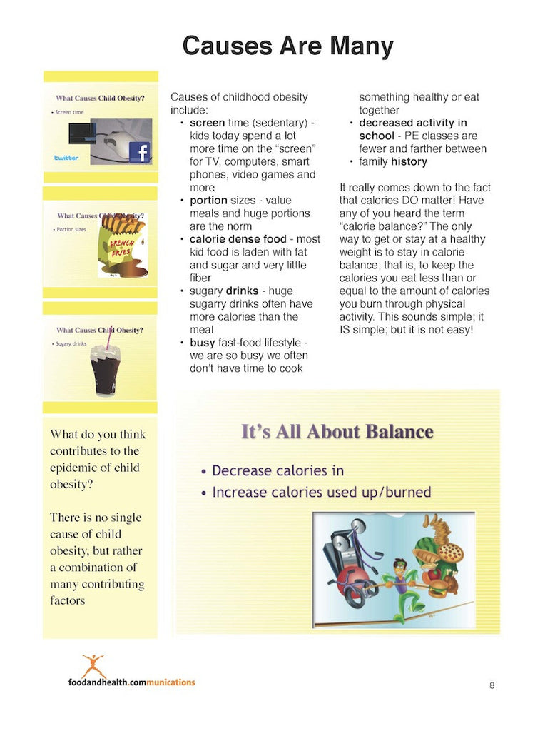 Childhood obesity and nutrition essay
