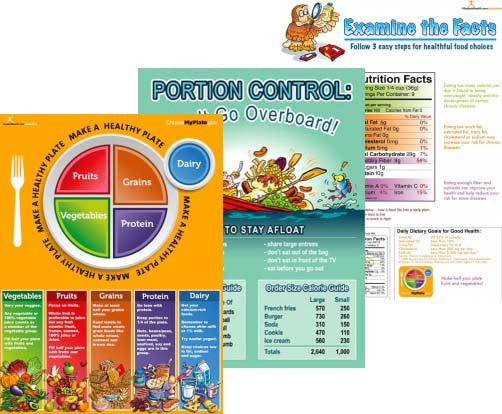 Basic Nutrition Color Handout Download - Nutrition Education Store