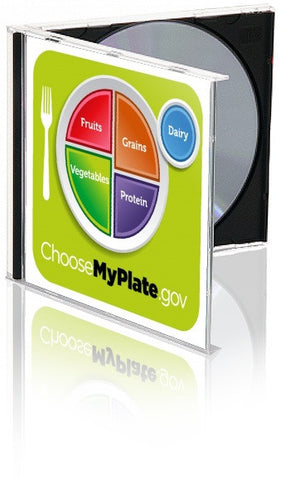 MyPlate Portion and Food Group Clipart - Nutrition Education Store