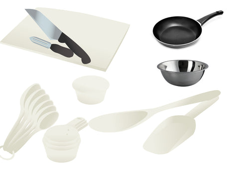 Cooking Demo Kit - Set of 11 Essential Cooking Tools for Cooking Demonstrations - Nutrition Education Store