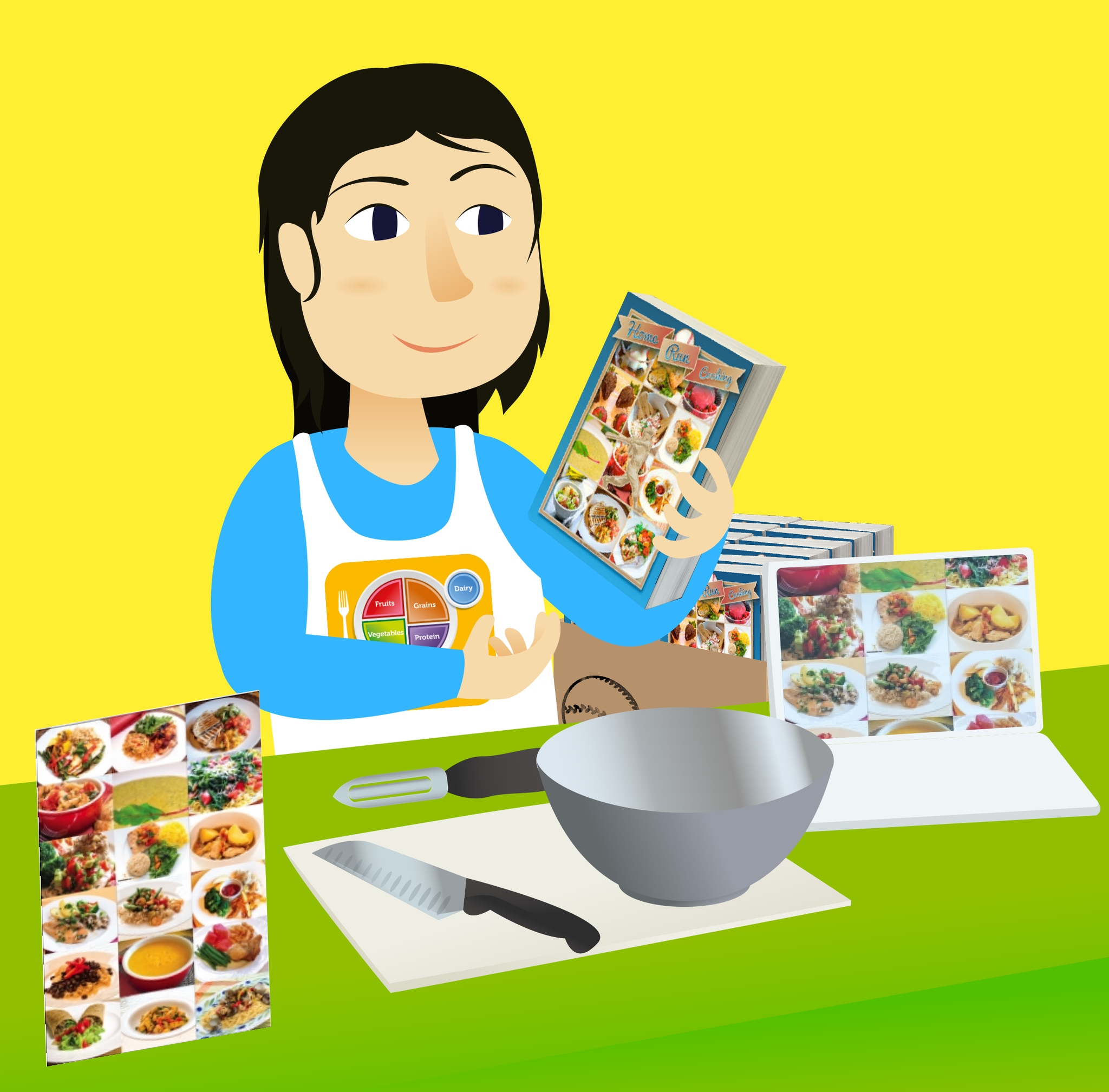 Cooking Demo Display Kit - Nutrition Education Store
