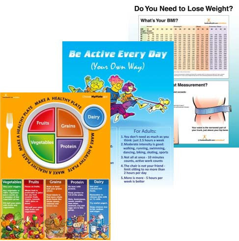 Worksite Wellness Poster Value Set