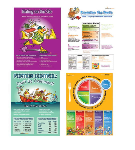 Nutrition Month Poster Value Set - Nutrition Education Store