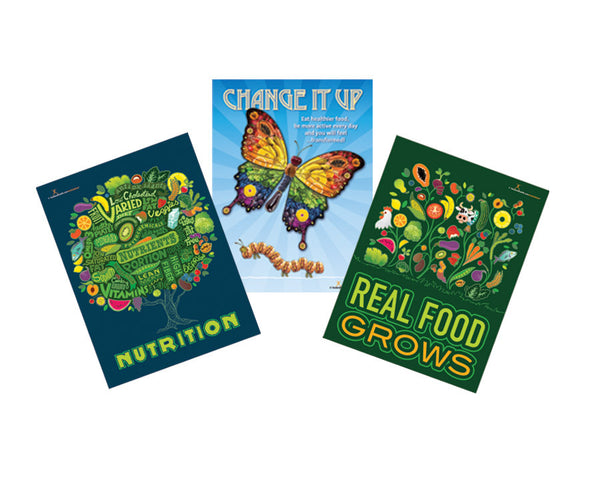 Food Art Poster Value Set