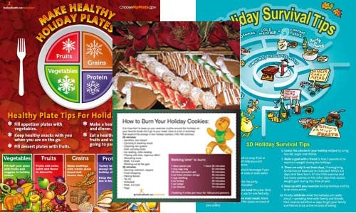 Holiday Poster Value Set - Nutrition Education Store