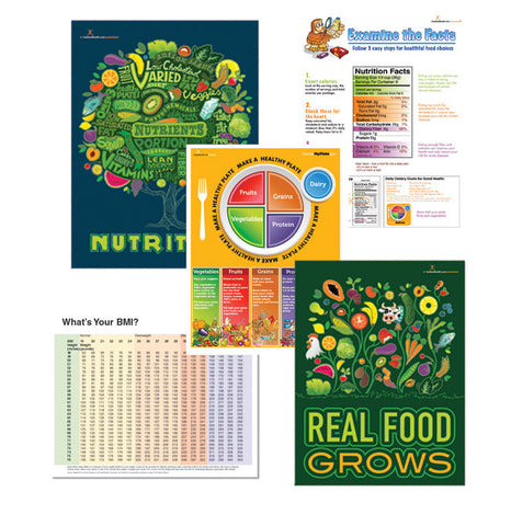 Office of Nutrition Poster Value Set - Nutrition Education Store