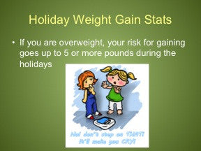 Holiday Survival: Keep Off the Pounds PowerPoint and Handout Lesson