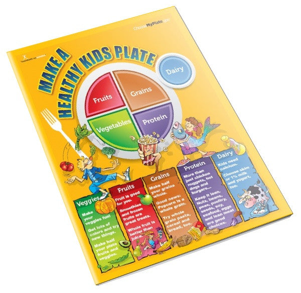 MyPlate Kids Color Handout Tearpad