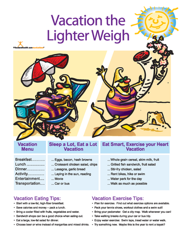 Vacation Light Color Handout Download