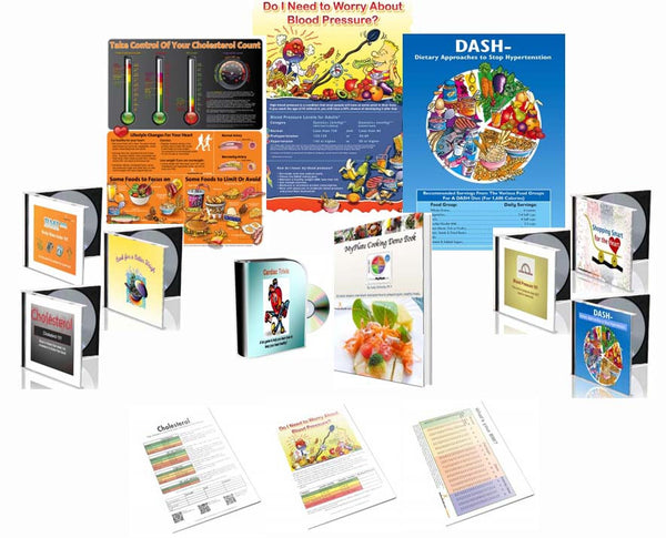Premium Heart Education Kit - Nutrition Education Store