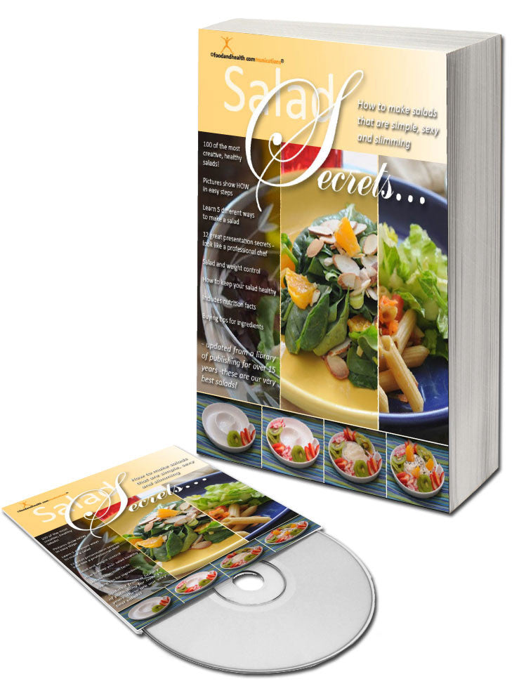 Salad Secrets Cookbook and CD - Nutrition Education Store