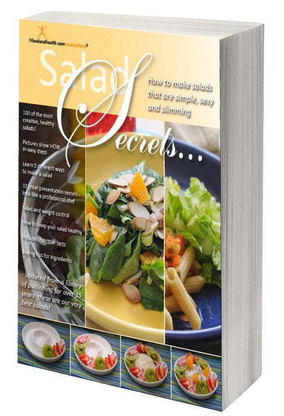 Salad Secrets Cookbook - Printed Book