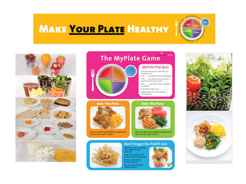 MyPlate Bulletin Board Kit - Quiz Version
