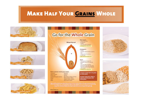 Whole Grain Bulletin Board Kit - Nutrition Education Store