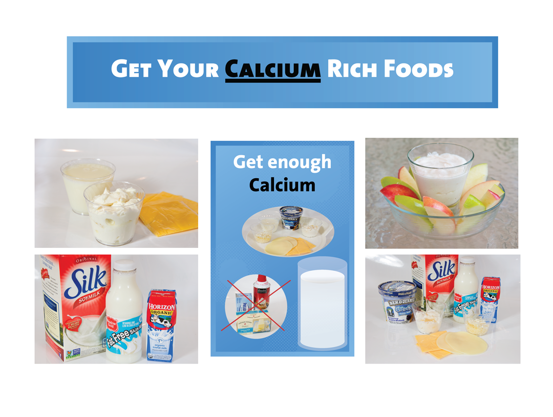 Calcium Bulletin Board Kit - Nutrition Education Store