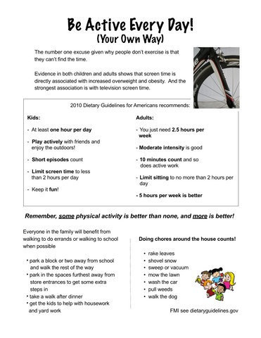 Worksite Wellness Poster Value Set - Nutrition Education Store