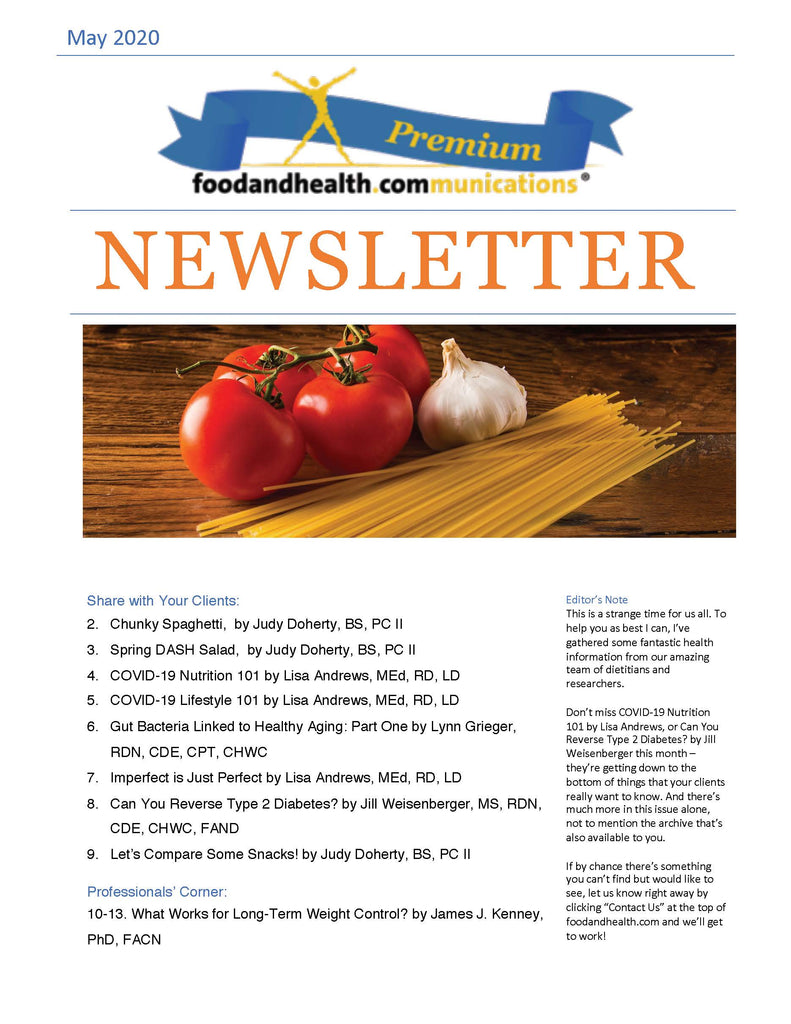 White Label Newsletters 129 00 Nutrition Education Store