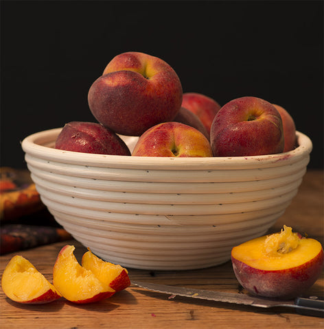 "Peaches 24"" Square Banner for Bulletin Boards and Walls - Nutrition Education Store"